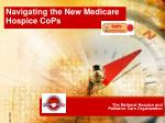 The National Hospice and Palliative Care Organization