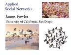 Applied Social Networks
