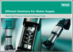Efficient Solutions For Water Supply