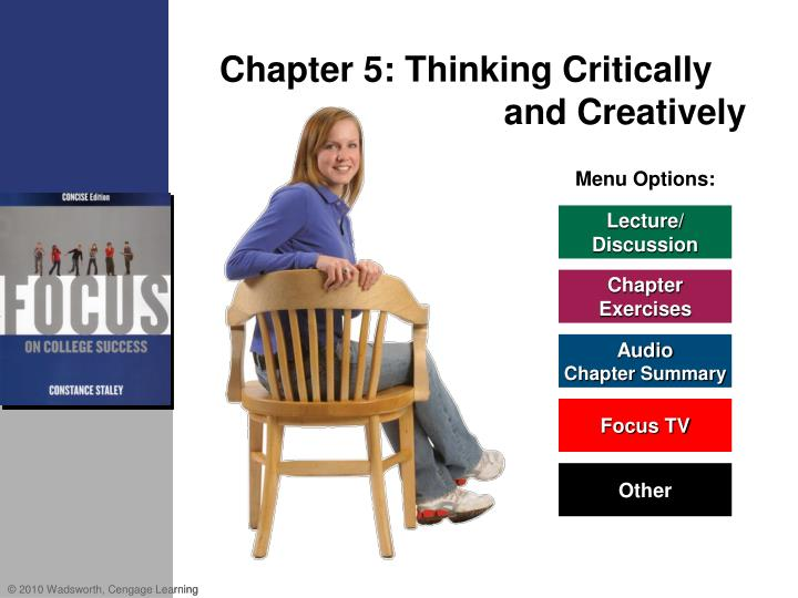 chapter 5 thinking critically and creatively n.