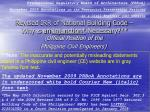 Revised IRR of National Building Code – Why is an Injunction* Necessary?**