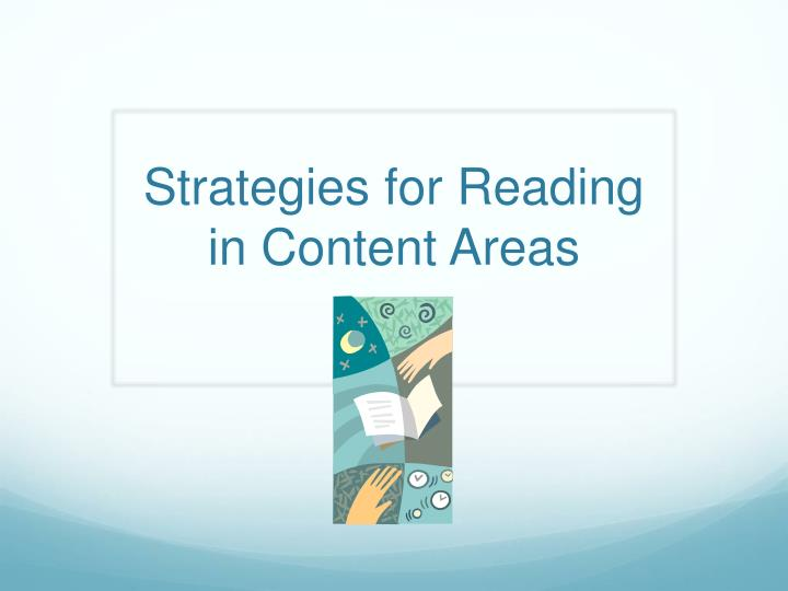 strategies for reading in content areas n.