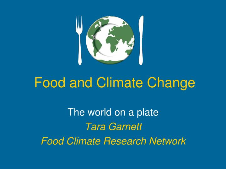 food and climate change n.