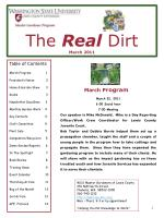 The  Real Dirt March 2011
