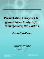 Presentation Graphics for Quantitative Analysis for Management, 8th Edition Render/Stair/Hanna