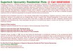 Supertech upcountry plots Noida-9958720505-Supertech upcount