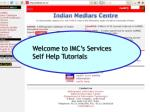 Welcome to IMC's Services Self Help Tutorials