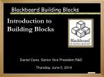 Blackboard Building Blocks
