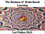 The Business of Brain-Based Learning