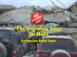 The Salvation Army  In Haiti
