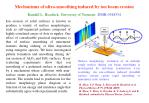 Mechanisms of ultra-smoothing induced by ion beam erosion Randall L. Headrick, University of Vermont, DMR-0348354