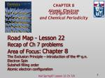 CHAPTER 8 Atomic Electron Configurations and Chemical Periodicity