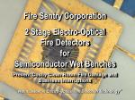 """""""World Leader in Electro-Optical Fire Detection Technology"""""""