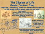 The Illusion of Life Chapter Fourteen: Story