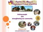 linking people and  strengthening our community