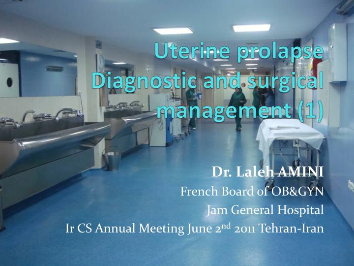 uterine prolapse diagnostic and surgical management 1 n.
