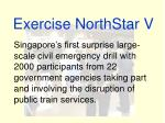 Exercise NorthStar V