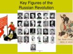 Key Figures of the  Russian Revolution