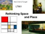 LT901 Rethinking Space      and Place