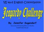 VS 4a-d English Colonization