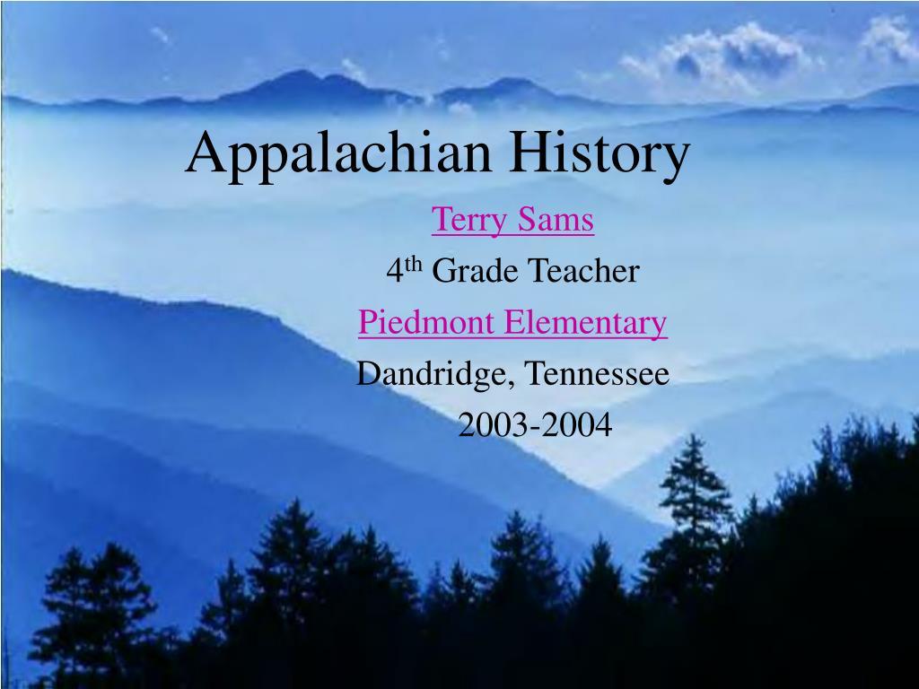 appalachian history l.