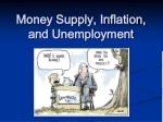 Money Supply, Inflation, and Unemployment