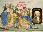 The Rise of Political Parties & the XYZ Affair