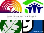 How to Speak and Think Nonprofit