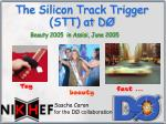 The Silicon Track Trigger STT at D