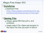 Allegro Free Viewer 15.0