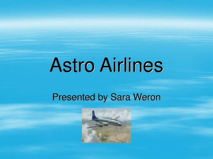 astro airlines n.