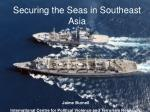 Securing the Seas in Southeast Asia