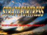 RESPONDING TO GLOBAL CONFLICT