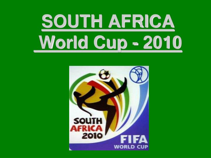south africa world cup 2010 n.