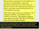 The signing of the non-aggression pact removed the threat of Germany being attacked by the Soviet Union from the east.