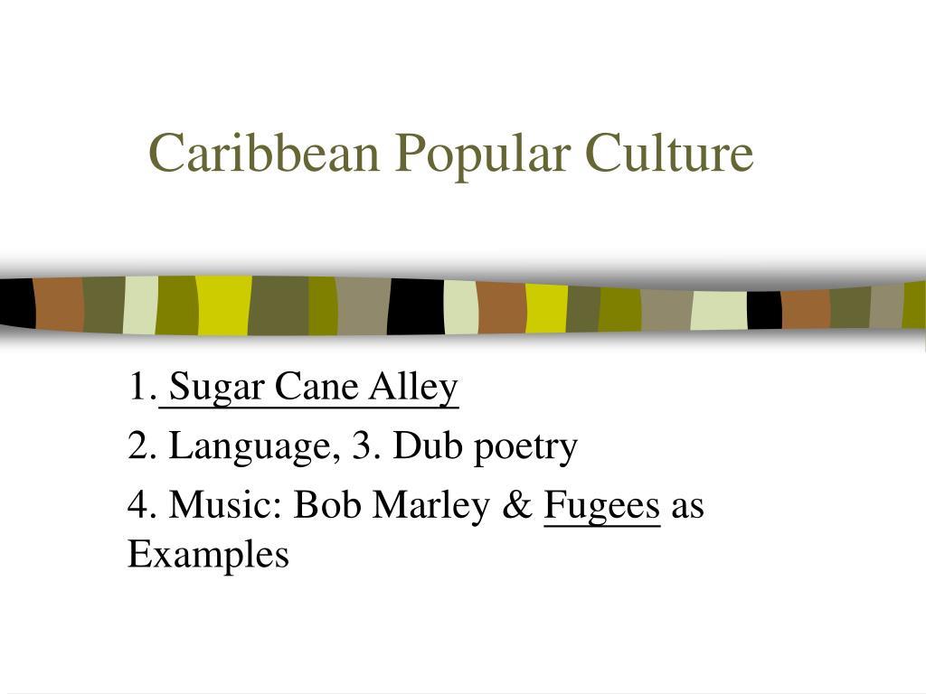 caribbean popular culture l.