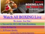 welcome to enjoy hugo vs francisco / ruiz vs arce streaming