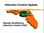 Infection Control Update