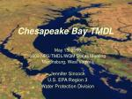 Chesapeake Bay TMDL