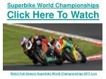 watch 2011 wsbk miller motorsports park salt lake city live