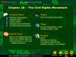 Chapter 28 – The Civil Rights Movement