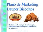 Plano de Marketing Dauper Biscoitos