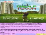 book you apartments call: 9212455655 l aims golf town noida extension