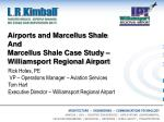 Airports and Marcellus Shale And Marcellus Shale Case Study – Williamsport Regional Airport