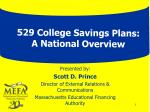529 College Savings Plans: A National Overview