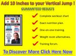 Add 10 Inches to your Vertical Jump !