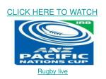 watch fiji vs samoa pacific nations cup rugby match live