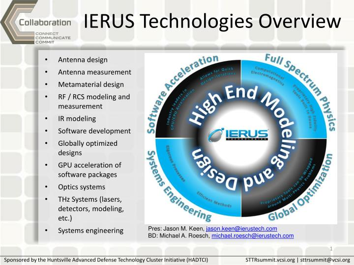 ierus technologies overview n.