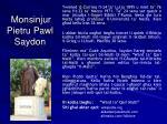 Monsinjur Pietru Pawl Saydon