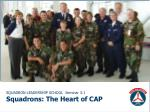 SQUADRON LEADERSHIP SCHOOL  Seminar 3.1 Squadrons: The Heart of CAP